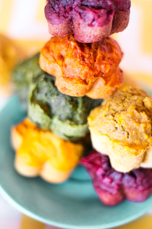 Muffins arcoiris-4